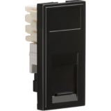Knightsbridge RJ11 Outlet Module 25mm x 50mm (IDC) - Black