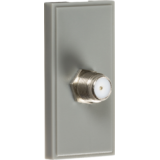 Knightsbridge SAT TV Outlet Module 25mm x 50mm - Grey