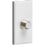 Knightsbridge SAT TV Outlet Module 25mm x 50mm - White