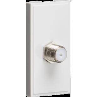 Knightsbridge SAT TV Outlet Module 25mm x 50mm - White