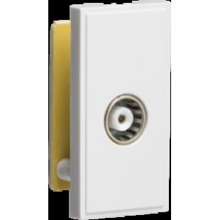 Knightsbridge TV Outlet Module (PCB) - White