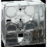 1G 35mm Galvanised Steel Box