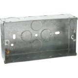 2G 35mm Galvanised Steel Box