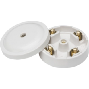 20A Junction Box 4 Terminal - White (59mm)