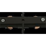 Knightsbridge 230V Track In-Line Connector Black