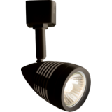 Knightsbridge 230V GU10 Track Spotlight 50W Black
