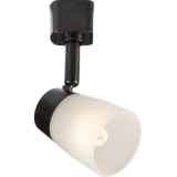 Knightsbridge 230V G9 Track Spotlight - Black