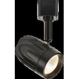 Knightsbridge 230V 9W LED Track Spotlight Black - Warm White