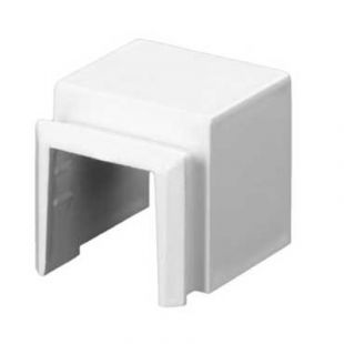 Schneider Mita MTAU1W Mini Trunking Adaptor 16mm x 16mm To Box