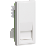Telephone Secondary Outlet Module 25mm x 50mm (IDC) - White