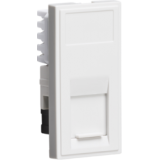 Knightsbridge UTP CAT5E RJ45 Outlet Module 25mm x 50mm - White