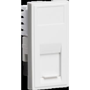 Knightsbridge UTP CAT5E RJ45 Outlet Module 25mm x 50mm - White