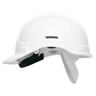 Scott HC300 White Hemet With Sweatband