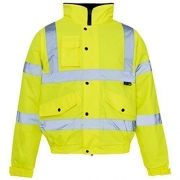 Hi-Vis Bomber Jacket EN471 CL3 Medium