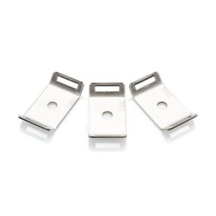 Stainless Steel Cable Tie Mount With M6 Fixing Pack Of 50