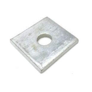 Galvanised Standard Square M6 Washer 40mm x 40mm
