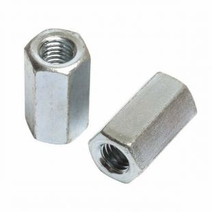 M6 x 18mm Studding Connector BZP