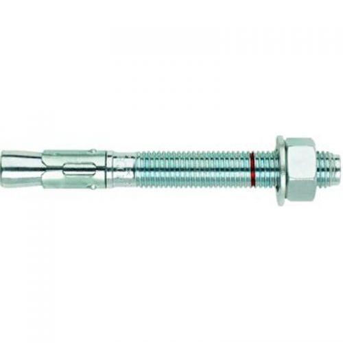 M6 x 80mm Throughbolt Clear Zinc Plated