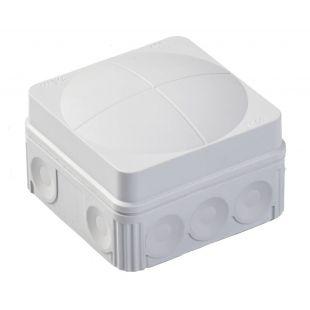 Wiska IP66 Junction Box Combi 108/5 Grey 76mm x 76mm x 51mm 24 Amp