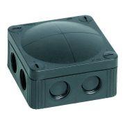 Wiska IP66 Junction Box Combi 308/5 Black 85mm x 85mm x 51mm 32 Amp
