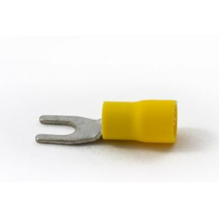 Partex Fork Terminal To Fit 4mm Stud Pack Of 100