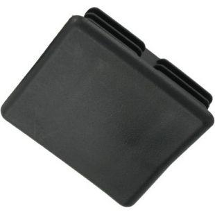 41mm x 41mm Channel End Cap Black