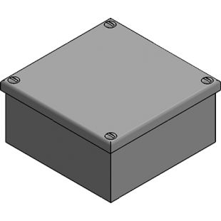 100mm x 100mm x 50mm Galvanised Adaptable Box